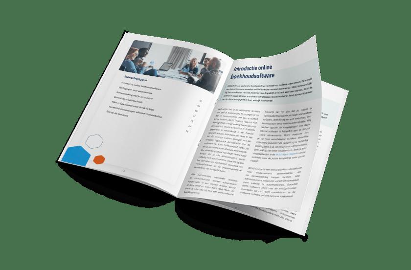 Brochure online boekhoudsoftware